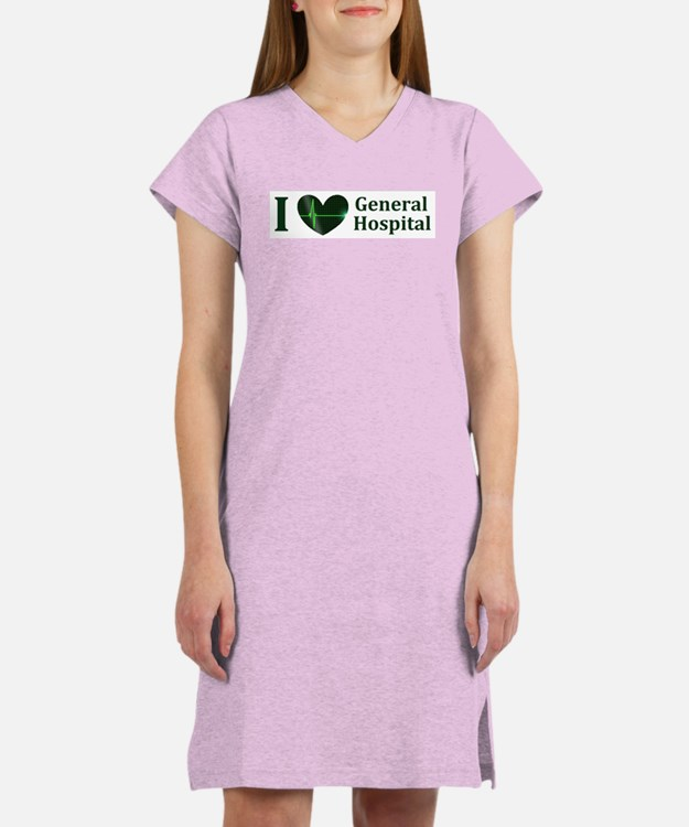 I love General Hospital with Women's Nightshirt