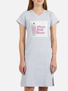 Strawberry Milkshake Women's Pink Nightshirt