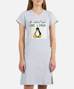 Use Linux Women's Nightshirt