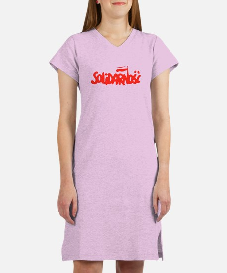 Solidarnosc Women's Nightshirt