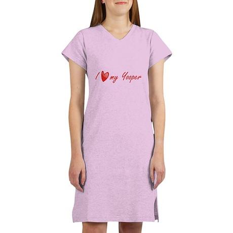 I Love My Yooper Women's Nightshirt