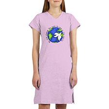 World Peace Gandhi - 2008 Women's Nightshirt