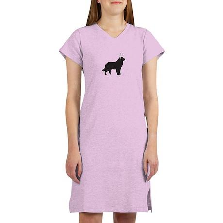 Newfie Bunny Women's Nightshirt