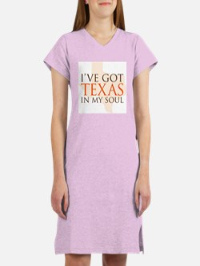 Texas in my Soul Women's Nightshirt