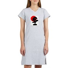 Rising Sun (with quote) Women's Nightshirt