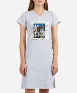 Lighthouses of Lake Huron Women's Nightshirt