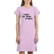 Van is the Man Women's Nightshirt