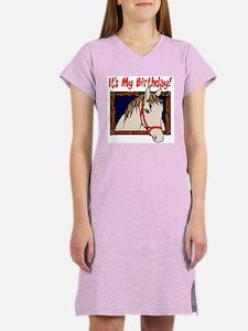Horse Birthday Women's Nightshirt