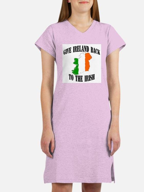 give ireland back to the iris Women's Nightshirt