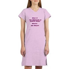 THE RULES! Women's Nightshirt