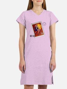 Kitsch Witsch Stamp Women's Nightshirt