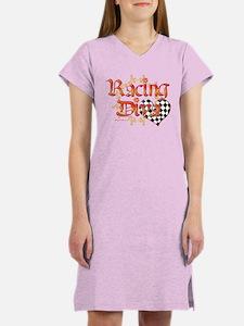 Racing Diva Orange Women's Nightshirt