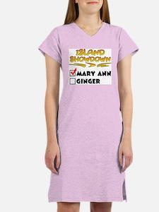Island Showdown Women's Pink Nightshirt