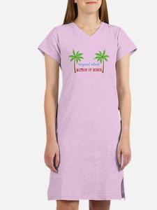 Tropical Matron of Honor Women's Nightshirt