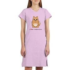 Pomeranian Women's Nightshirt