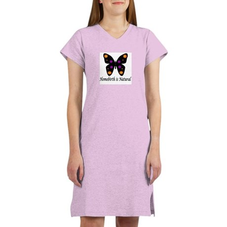 Homebirth is Natural Nightshirt