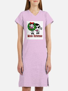 Xmas Cow Women's Nightshirt