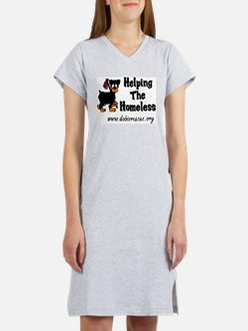 helping the homeless Women's Nightshirt