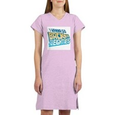 Back To The 80s Women's Nightshirt