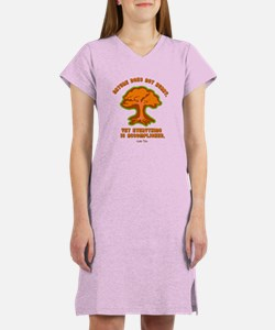Nature Does Not Hurry... Women's Nightshirt