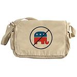 No More Republicans! Messenger Bag