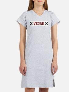 Vegan Straightedge Women's Pink Nightshirt