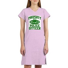 Irish Police Property Women's Nightshirt