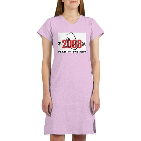 Women's Light Pink Nightshirt