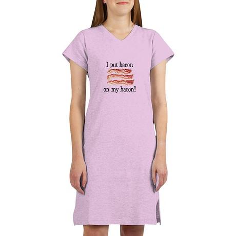 Bacon Lovers Women's Nightshirt