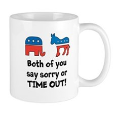 Bipartisan time out! Mug