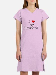 I Heart My Husband Women's Nightshirt