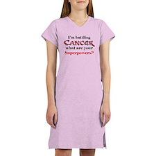 I'm battling Cancer Women's Nightshirt