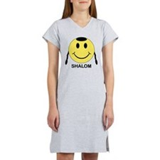 Shalom Happy Face Women's Nightshirt