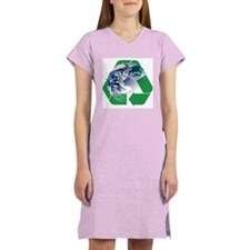 Recycle the Earth Women's Nightshirt