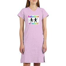 Babysitter of twins! Women's Nightshirt