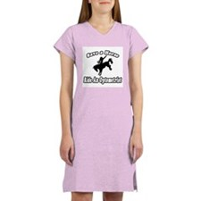 """Save Horse, Ride Optometrist"" Women's Nightshirt"