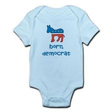 Born Democrat Onesie