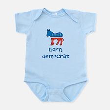 Born Democrat Onesie