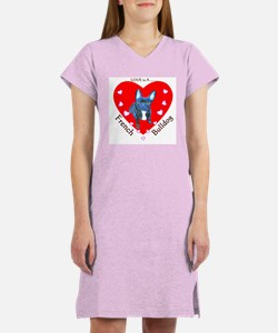 French Bulldog Women's Nightshirt