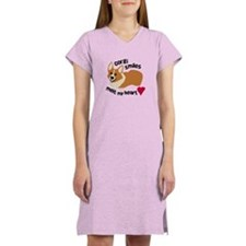 Corgi Smiles Melt My Heart Women's Nightshirt