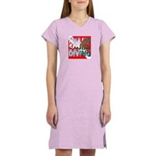 Thailand Scuba Diving Women's Nightshirt