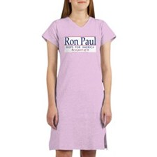 Cute Support ron paul Women's Nightshirt