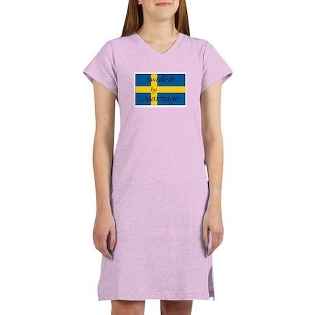 Swedish by Marriage Women's Nightshirt