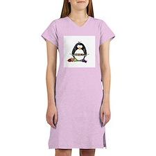 Knitting Penguin Women's Nightshirt