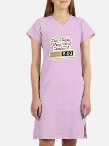 Groundhog Holiday Women's Nightshirt