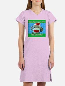Hugged Monkey? Women's Nightshirt