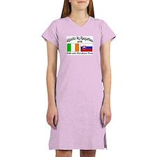 Irish & Slovakian Parts Women's Nightshirt