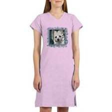 Look in Eyes Cairn Terrier Women's Nightshirt