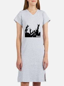 Rock On Colorful Women's Nightshirt