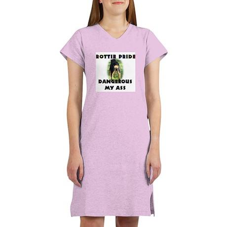 Dangerous My Ass - Rottie Women's Nightshirt